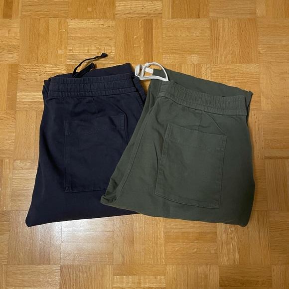 Uniqlo Cotton Joggers (2 Pack)